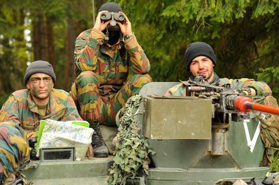 Молдавский военный контингент прибыл на учения НАТО