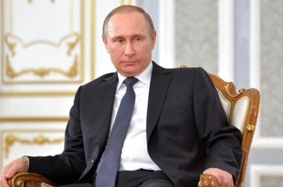 Путин ожидает от «Новой волны-2017» ярких выступлений участников