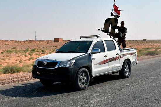 Сирийской армии удалось продвинуться в провинции Хама