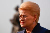 Президент Литвы заявила, что цель учений «Запад-2017» — запугать Вильнюс