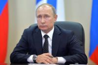 Путин поздравил москвичей с 870-летием столицы