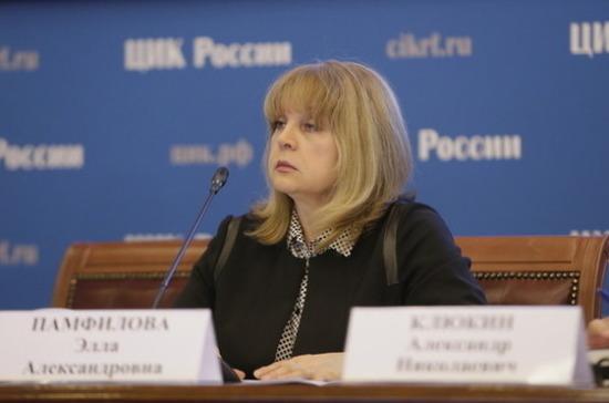 Памфилова: все факты нарушений на выборах ЦИК будет делать «достоянием общественности»