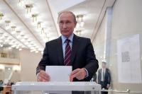 Путин проголосовал на муниципальных выборах в Москве
