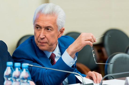 Васильев назвал приоритеты «Единой России» в осеннюю сессию Госдумы