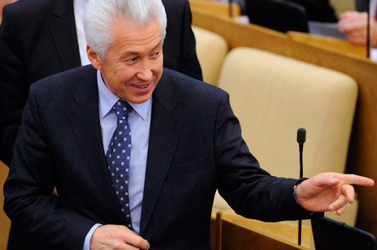 Владимир Васильев поздравил Иосифа Кобзона с юбилеем