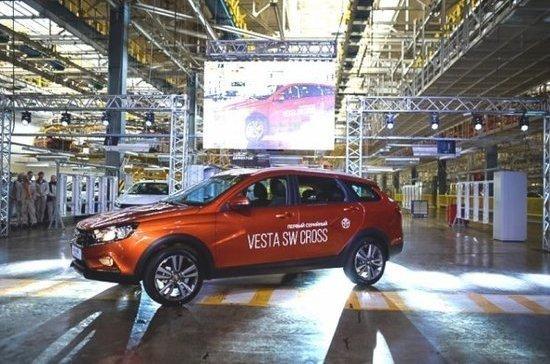 В России стартовало производство Lada Vesta SW и Lada Vesta SW Cross