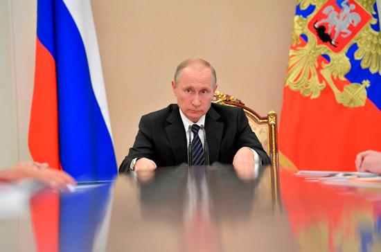 Путин рассказал о набирающей обороты экономике РФ