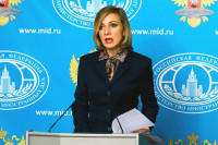 Захарова прокомментировала заявление Меркель по Крыму