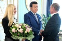 Путин поздравил Кобзона с 80-летием