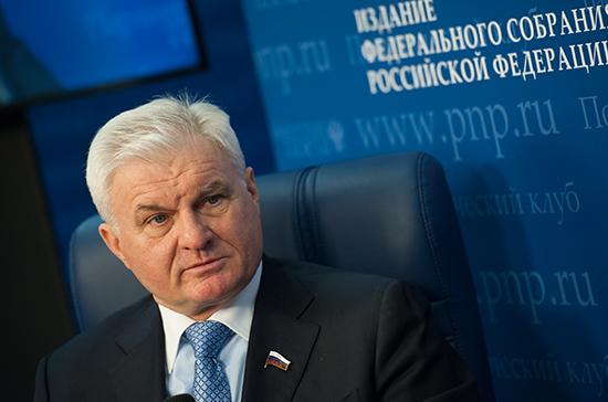 Владимир Плотников: Правительству необходимо развернуть сельхозинтервенции для смягчения падения цен на зерно