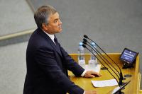 Депутаты откажутся от перерыва ради избирателей, заявил Володин