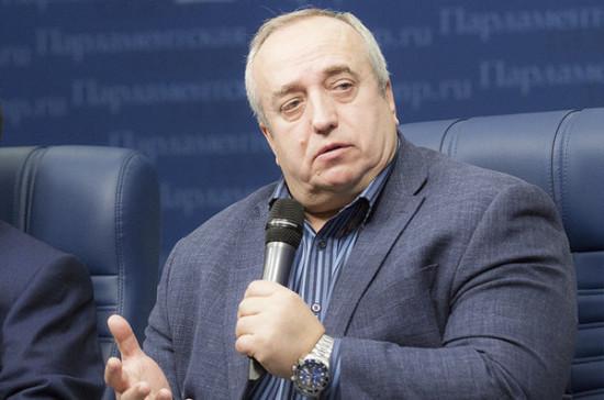 Клинцевич назвал причину увеличения расходов бюджета на нацбезопасность