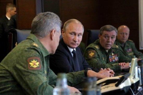 Путин прокомментировал присутствие наблюдателей на учениях «Запад-2017»