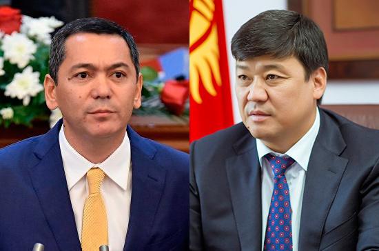 Двое кандидатов в президенты Киргизии объединились в тандем