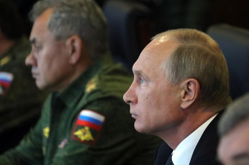 Путин иШойгу оценили результаты учений «Запад-2017» наЛужском полигоне