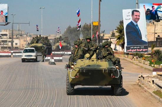 Минобороны РФ: сирийская армия форсировала Евфрат и расширила свой плацдарм на 60 км