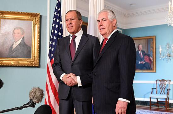 Любые договорённости Лаврова и Тиллерсона могут быть отменены американским президентом, заявил эксперт