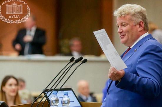 Изменение работы Госдумы позволит парламентариям ещё более эффективно работать с избирателями, отметил депутат Щаблыкин