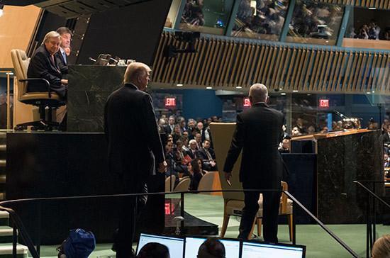 «Страна-изгой»: Трамп с трибуны ООН нелестно высказался об Иране