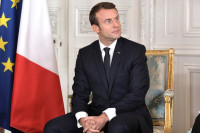 Макрон считает недостаточным астанинский формат для урегулирования в Сирии