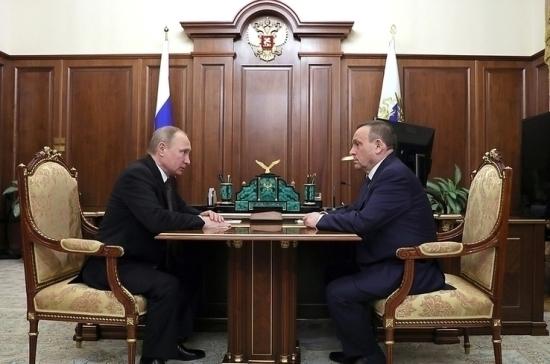Александр Евстифеев вступил в должность главы Марий Эл