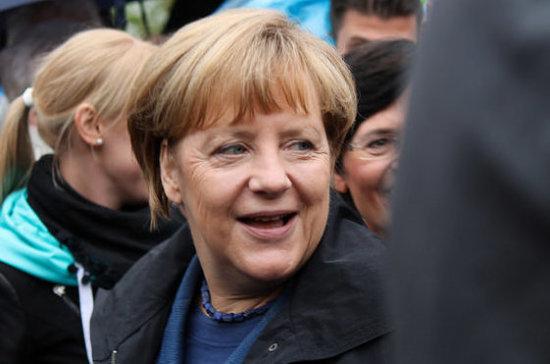 Жители юго-востока Берлина отдали голоса Меркель