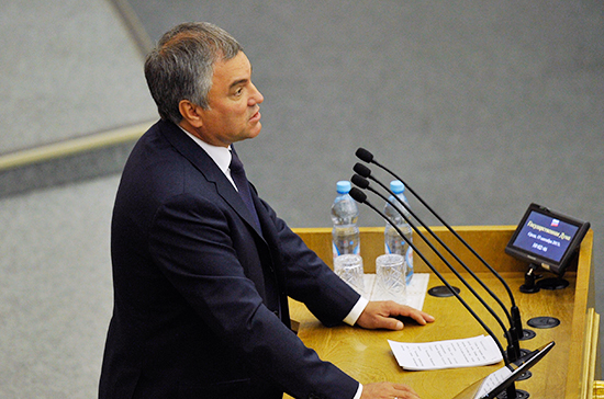 Володин объявил  что отношения человека иробота нужно регулировать законодательно