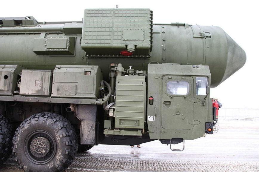 РФ испытала межконтинентальную ракету «Тополь»