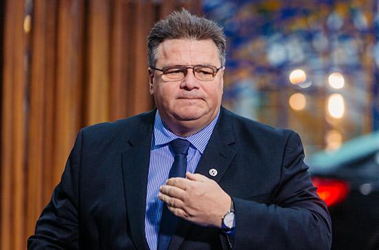 Министр иностранных дел Литвы раскритиковал свою бывшую партию
