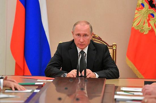 Путин поздравил жителей Иркутской области с юбилеем региона