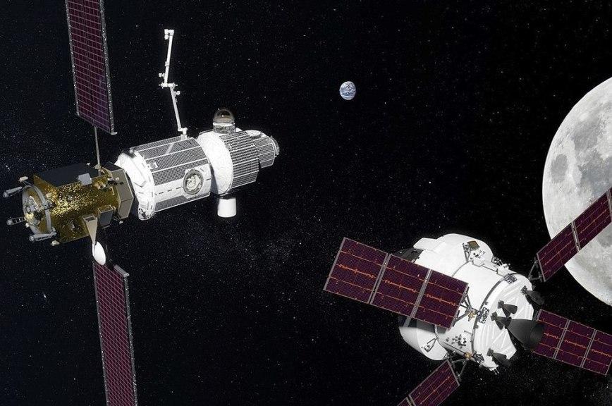 Россия и США совместно построят станцию на орбите Луны