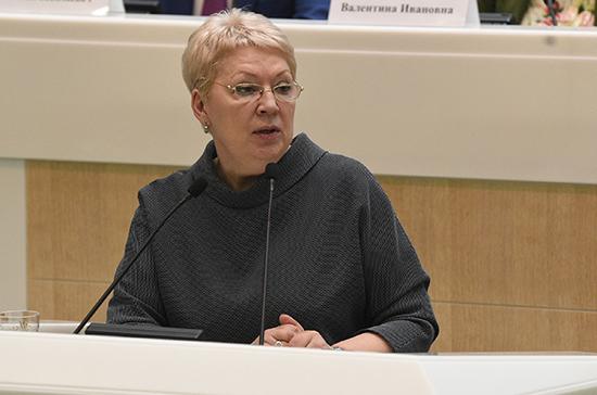Васильева: в некоторых регионах остаётся дефицит мест в дошкольных учреждениях