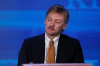 Песков отказался комментировать данные об отставке Толоконского