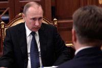 Путин подписал указ о дисциплинарном взыскании Соколову