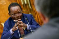 За заседанием Госдумы наблюдает делегация Гвинеи