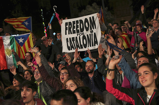 В Каталонии сработал эффект Трампа