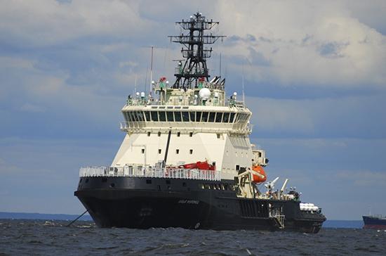ВВМФ поведали огосиспытаниях ледокола «Илья Муромец»
