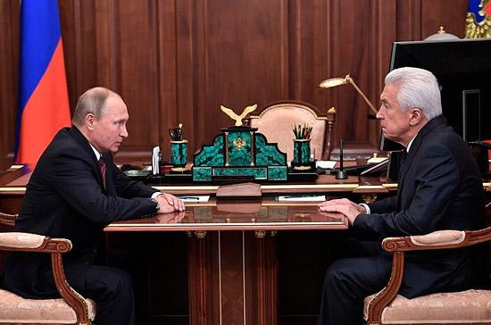 Владимир Васильев назначен исполняющим обязанности главы республики Дагестан