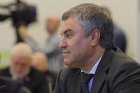 Володин прокомментировал назначение Васильева врио главы Дагестана