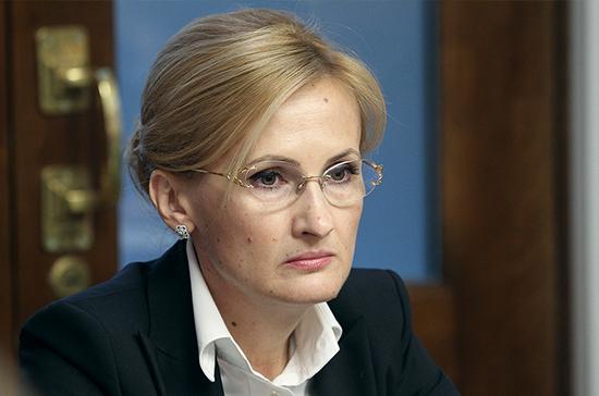 Яровая назвала законодательный проект ореинтеграции Донбасса «плевком всторону Европы»