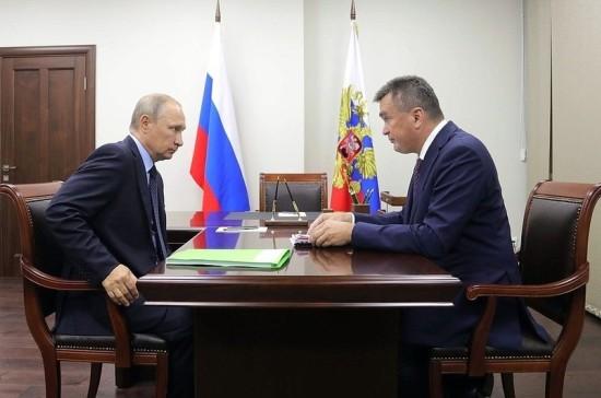 Путин уволил главу Приморья