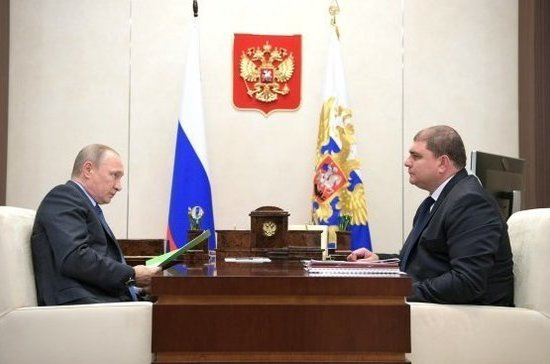 Путин освободил от должности губернатора Орловской области