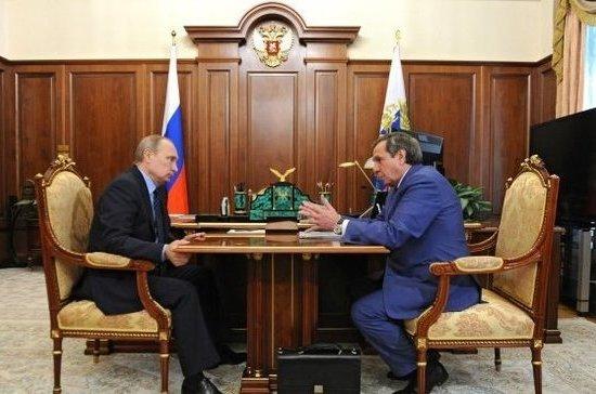 Путин принял отставку губернатора Новосибирской области