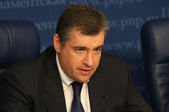 Слуцкий назвал правильным шагом добровольную отставку Аграмунта