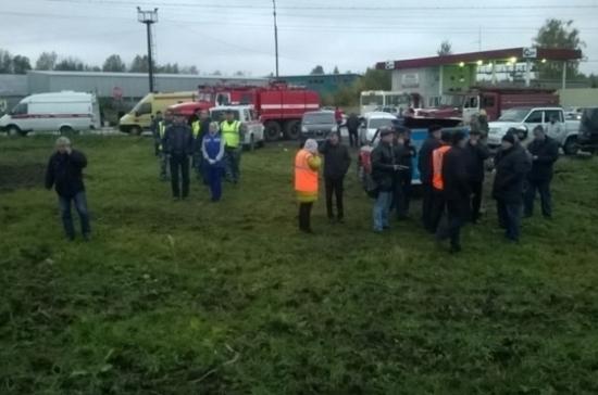 Под Владимиром при столкновении поезда и автобуса погибли 18 человек