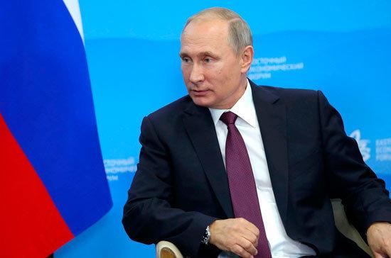 Путин отметил заслуженный авторитет МГИМО в России и за рубежом