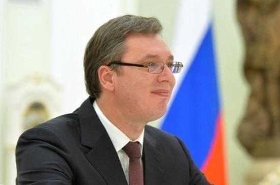 Президент Сербии поблагодарил В. Путина заподаренные МиГ-29