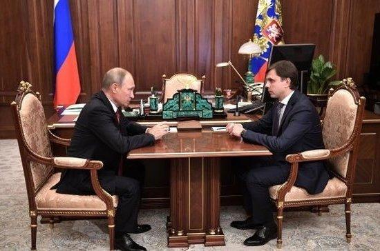 Андрей Клычков провел первое совещание в руководстве Орловской области