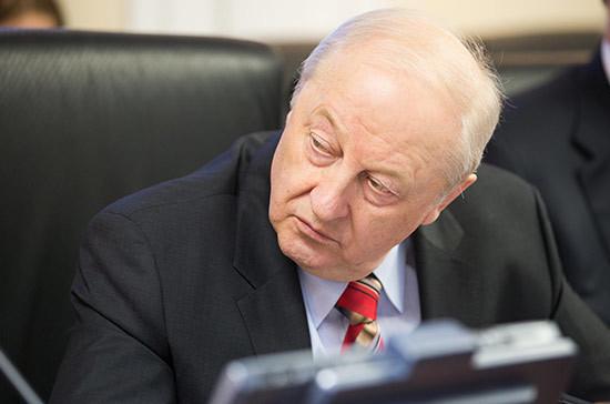 Эдуард Россель получит награду Совета Федерации за вклад в развитие российского парламентаризма