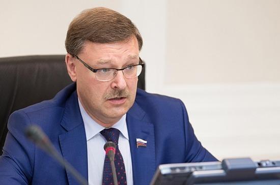 Косачев встретился с депутатом финского парламента Эркки Туомиоя